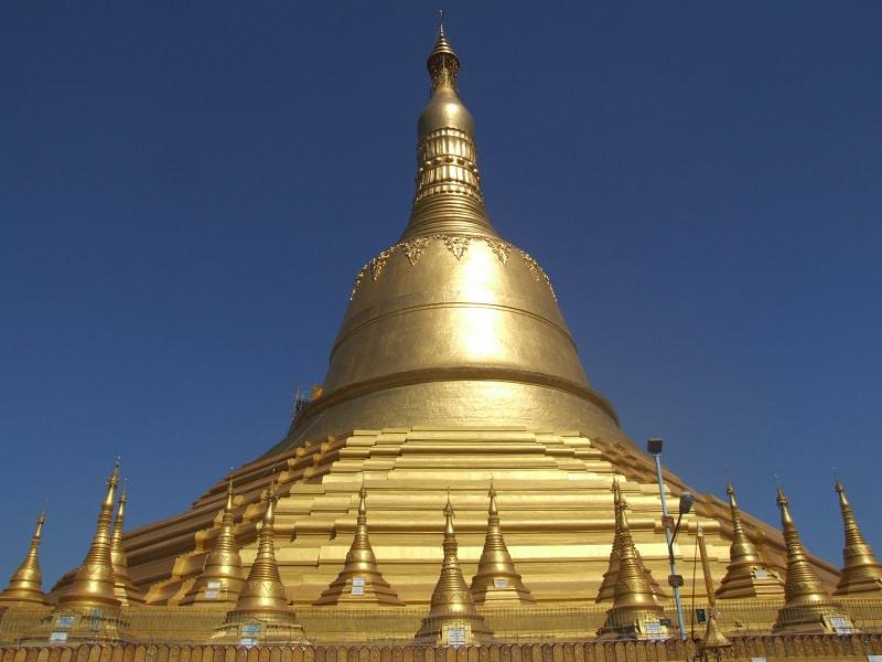 Туры в Мьянму. Золотая пагода в Баго фото