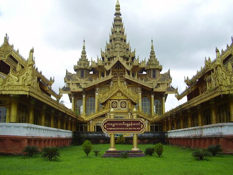 Туры в Мьянму. Золотой дворец в Баго фото