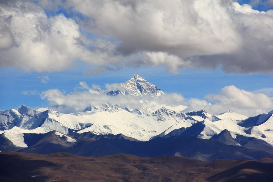 Туры в Непал. Нагаркот.  Эверест в облаках