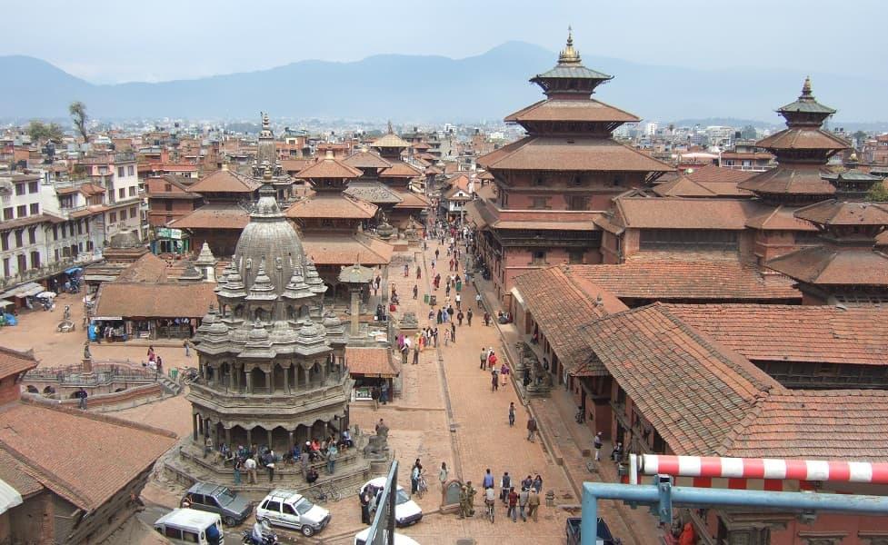 Туры в Непал. Патан. Площадь фото