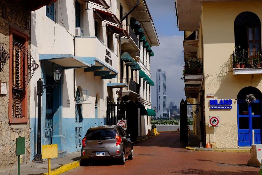 Туры в Панаму. Квартал Сарого города Панама Сити фото