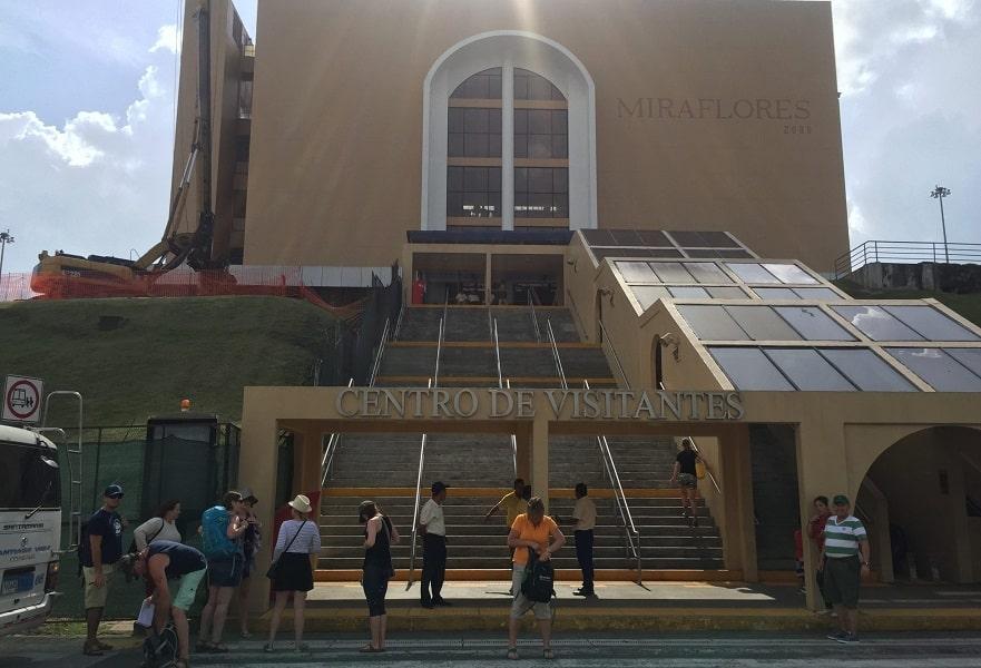 Туры в Панаму. Вход на смотровую площадку панамского канала