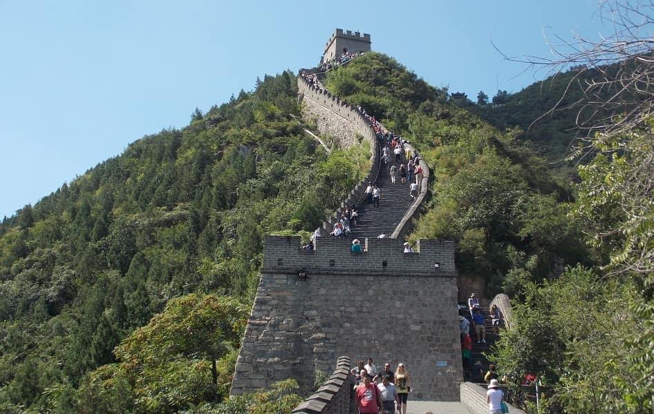 Туры в Пекин Китай. Великая Китайская Стена. Башня
