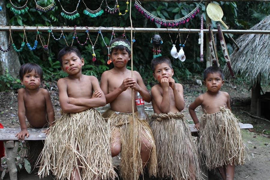Перу Амазонка тур племя Ягуас