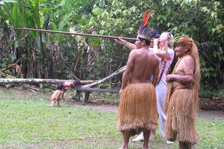 Племена Амазонки Перу.