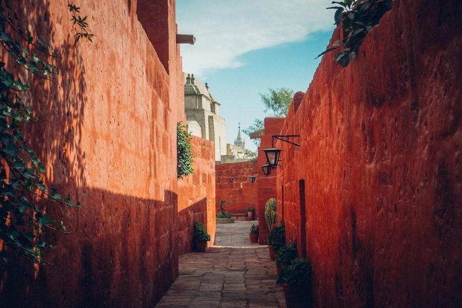 Перу Арекипа Монастырь св.Катарины фото