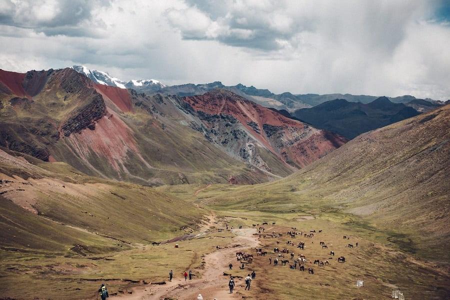 Перу пейзажи гор фото