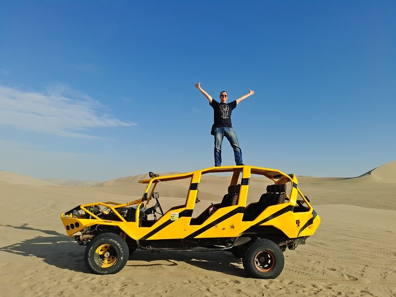 Экскурсия по песчаным дюнам из Ики Перу