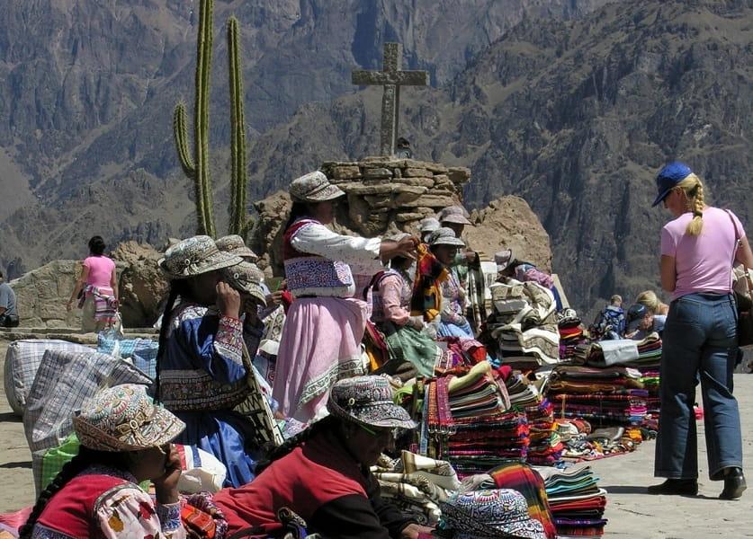 Перу. Колкинский каньон рынок фото