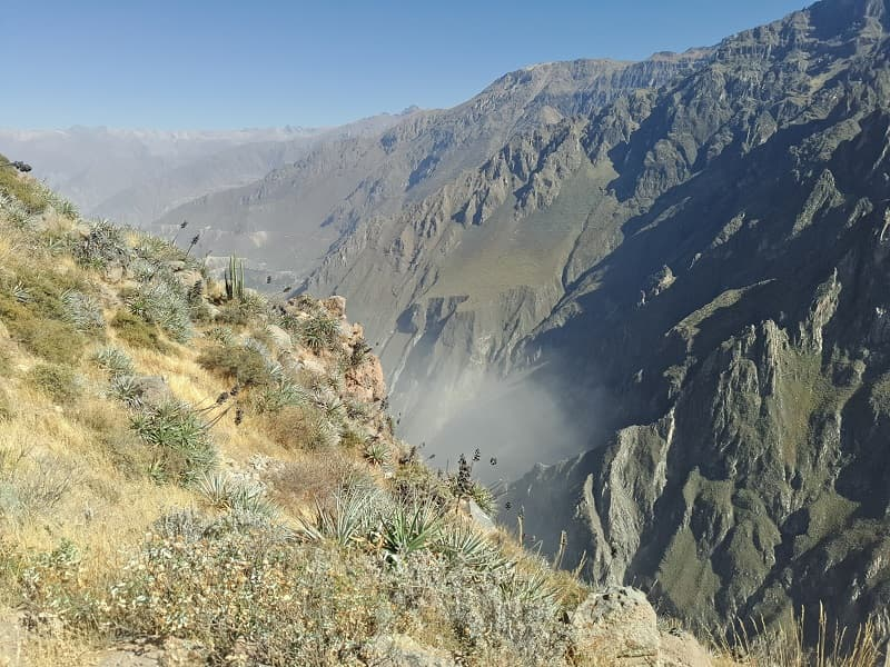 Перу. Колкинский каньон смотровая площадка фото