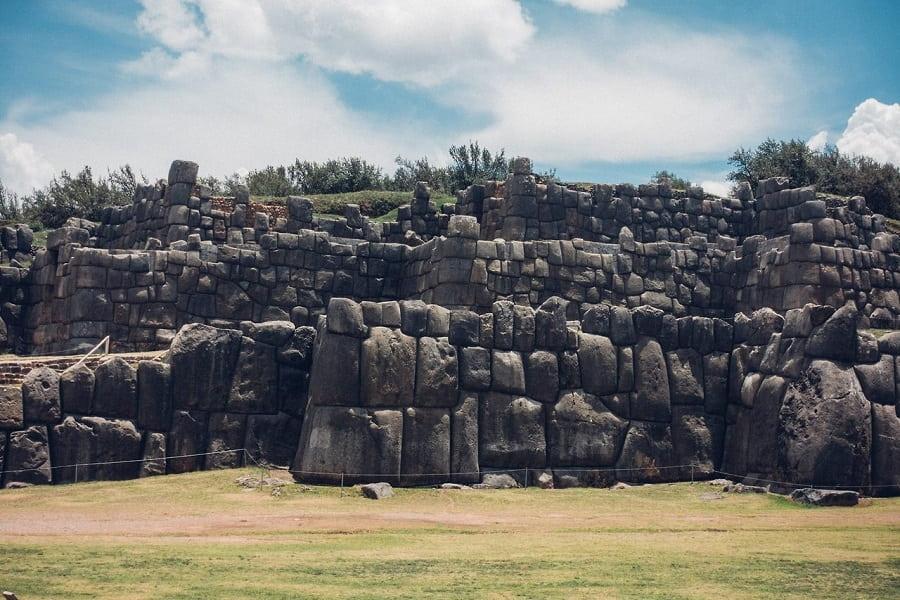 Куско археологический  комплекс Саксайуаман фото