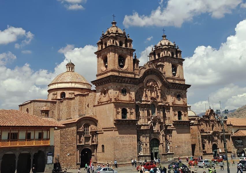 Куско Перу достопримечательности Кафедральный собор фото