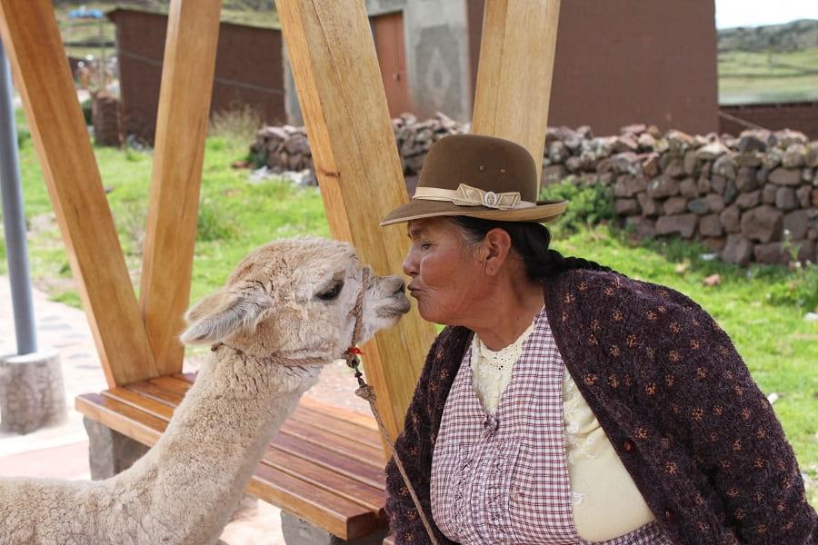 Поездка в Перу  Куско Сладкая парочка