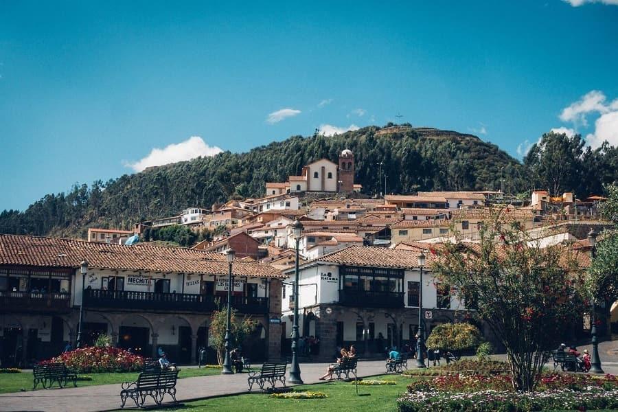 Город Куско Перу Фото