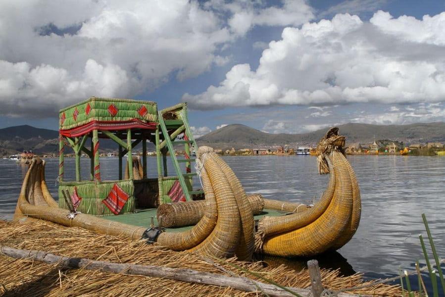 Перу. Озеро Титикака фото
