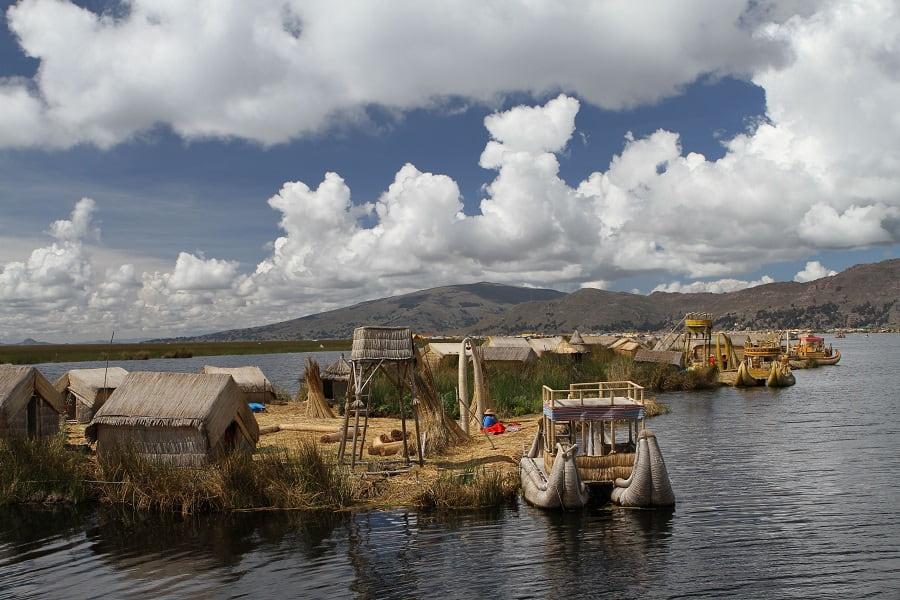 Перу Острова Урос фото