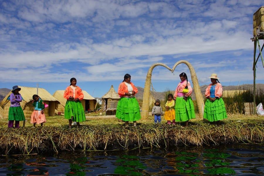Тросниковые отсрова Перу
