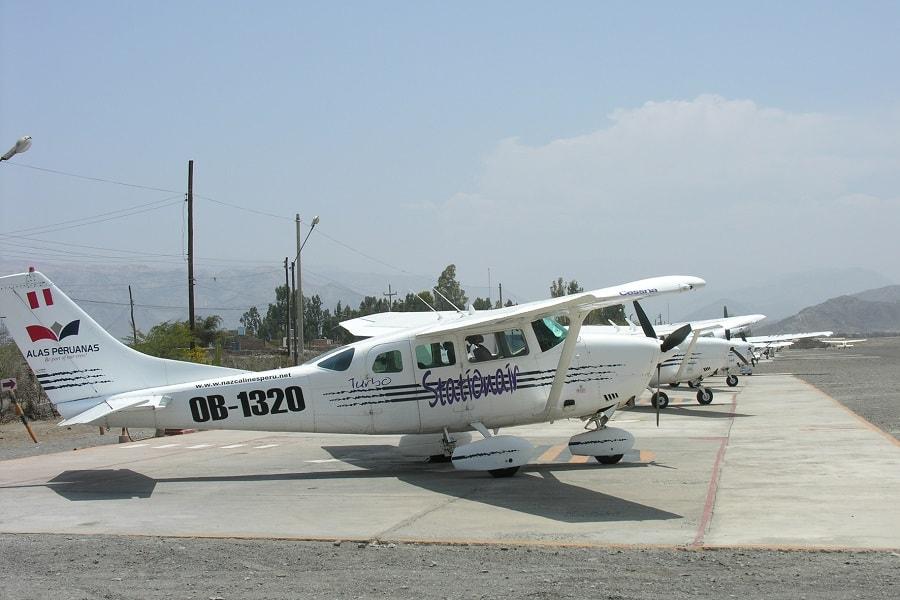 Полет над линиями Наска Перу