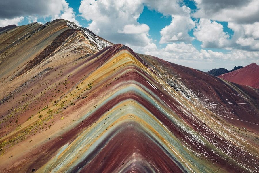 Виникунка - радужные горы Перу
