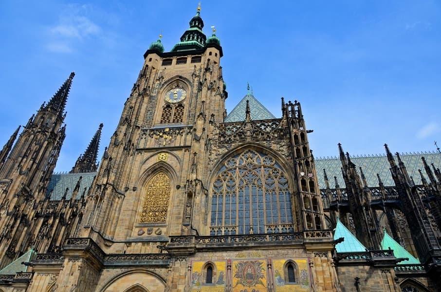 Туры в Прагу. Собор св.Вита фото