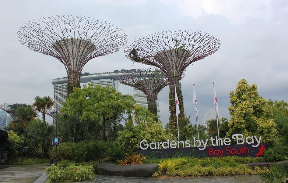 Туры в Сингапур. Футуристические сады Грин гарденс
