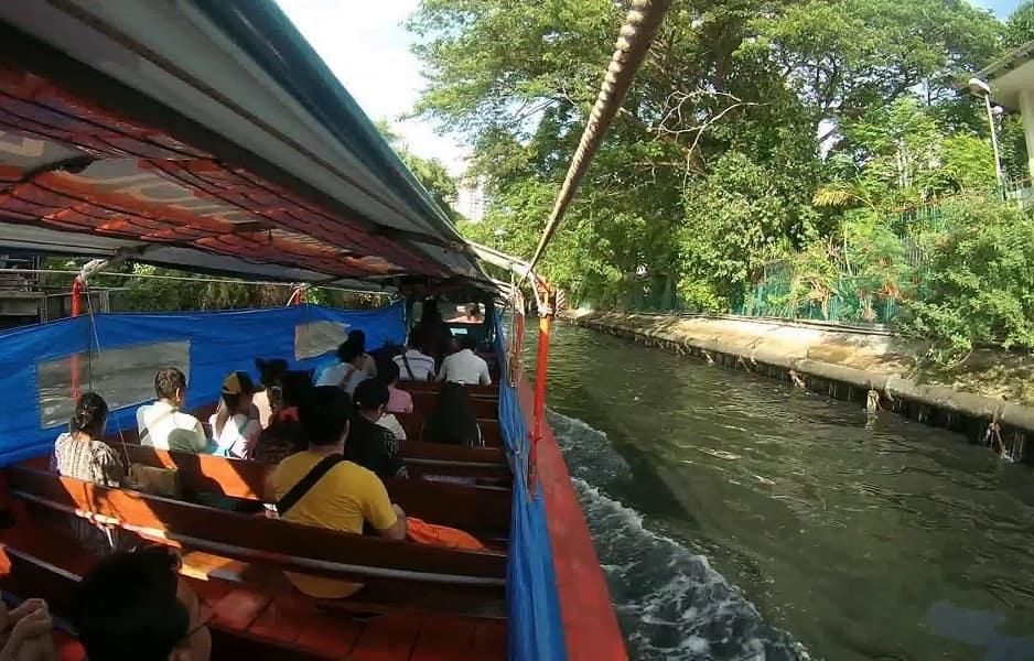 Туры в Тайланд. Прогулка по каналам Бангкока