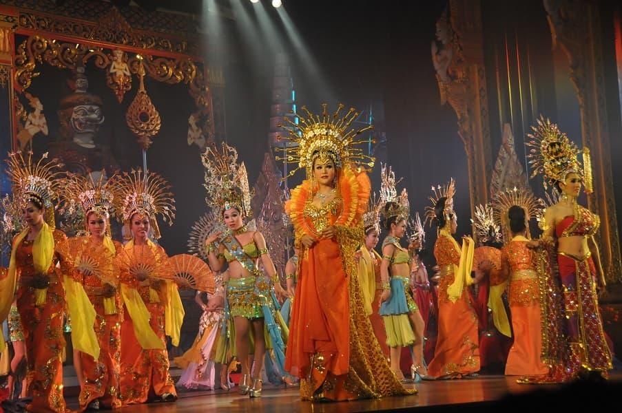 Туры в Таиланд из Украины. Паттайя. Альказар шоу