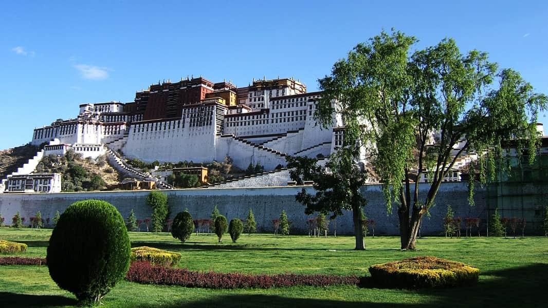 Туры в Тибет. Лхаса. Дворец Потала. Фото