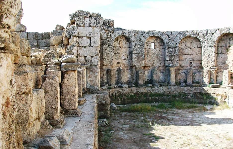 Туры в Турцию из Киева. Пергам. Развалины крепости
