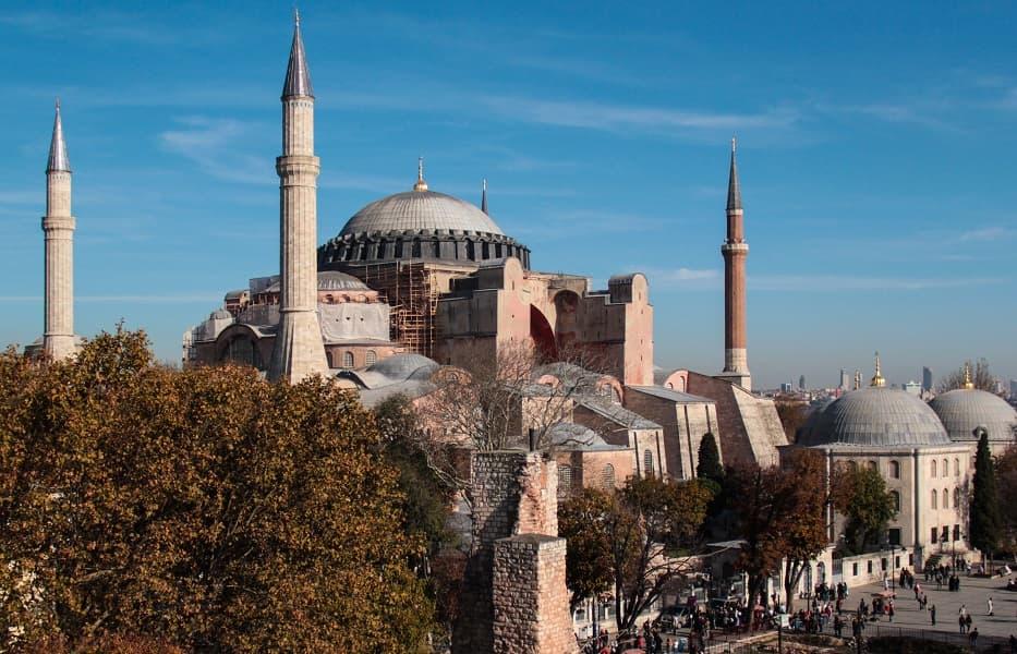 Туры в Турцию из Киева. Стамбул. Собор Святой Софии