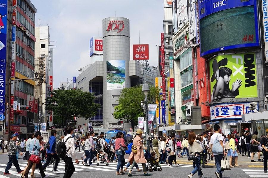 Туры в Японию из Украины. Токио. Район Гиндза