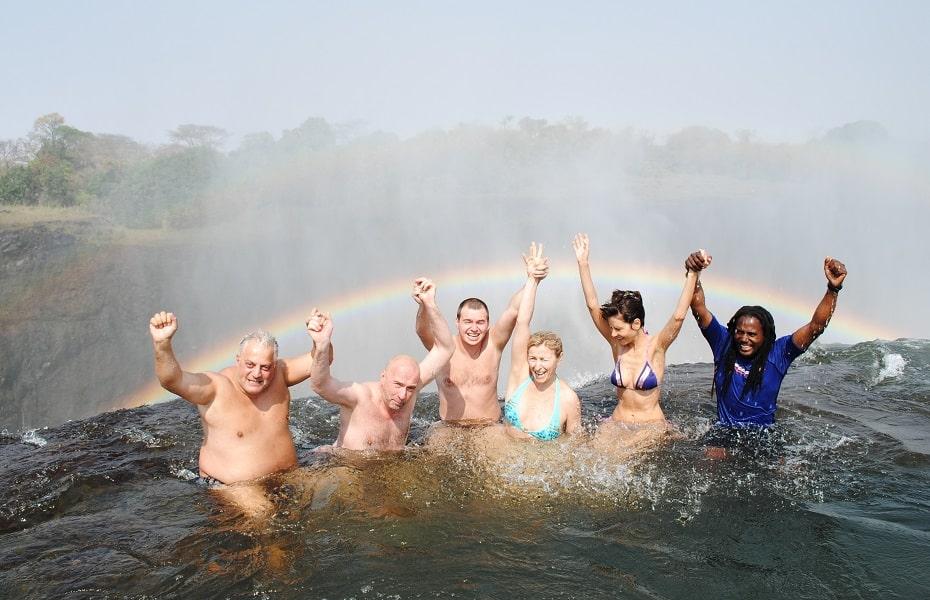 Туры в Замбию. Экскурсия на остров Ливингстона