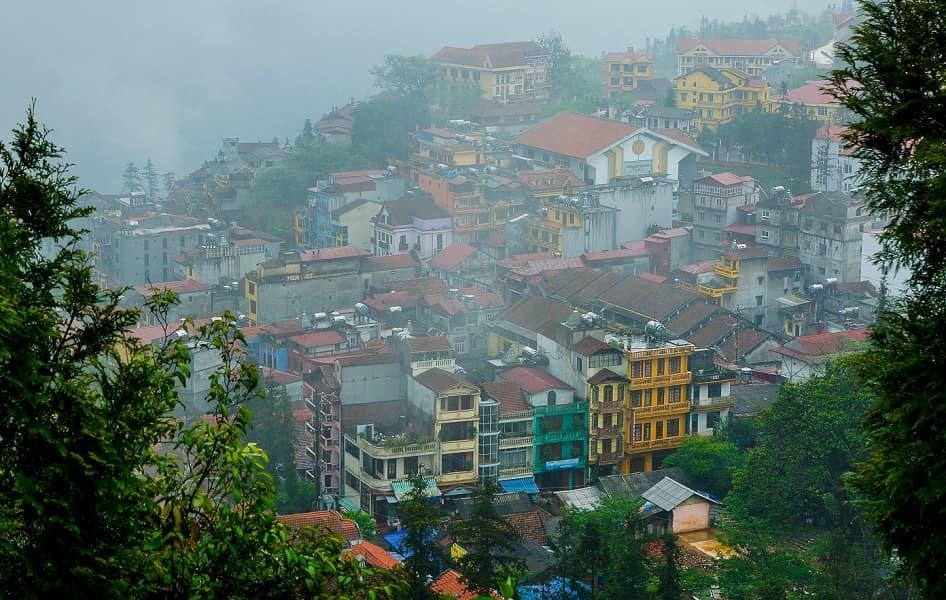 Туры во Вьетнам. Город Сапа Фото
