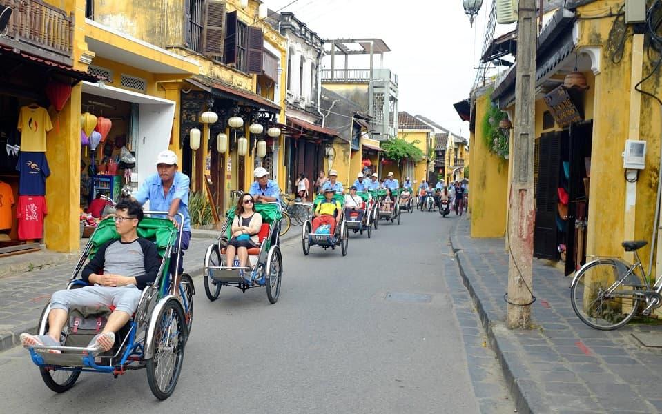 Туры во Вьетнам. Хойан. Велорикши