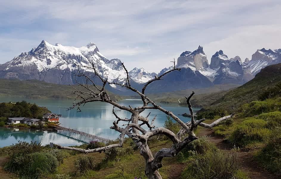 Поездка в Патагонию. Торрес дель Пайне. Озеро Пэоэ