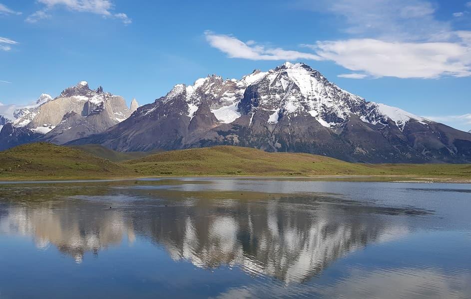 Поездка в Чили. Озеро в парке Торрес дель Пайне