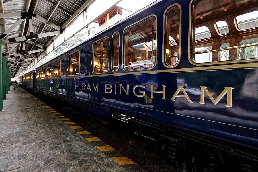 ВИП тур в Перу. Поезд Hiram Bingham